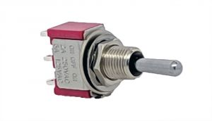 Mini Toggle Switch-On/Off/On-Solder Terminals
